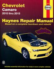 Camaro Shop Manual Service Repair Chevrolet Haynes Book 2010-2015 Chilton