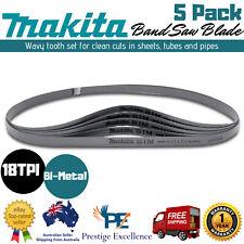 "Makita B40559 32 7/8"" 18TPI Compact Portable Band Saw Blade - 5 Pack"
