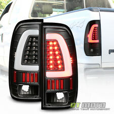 [Update Design] Black 1997-2003 Ford F150 LED Light Bar Tail Lights Brake Lamps