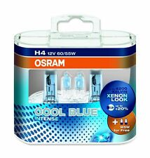 OSRAM Cool Blue Intense Halogen Light Globe PAIR H4 type 55W + W5W for AE86 S13