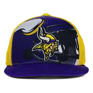 Minnesota Vikings Outerstuff NFL Youth Stealth Snapback Cap Hat Team Headwear MN