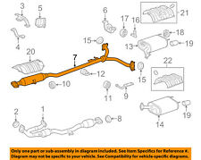 Lexus TOYOTA OEM 13-17 ES350 3.5L-V6 Exhaust System-Center Pipe 174200P160