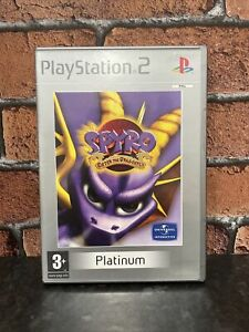 Spyro enter the dragonfly Sony PlayStation 2 Ps2 with manual & free uk postage