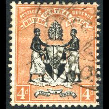 BRITISH CENTRAL AFRICA 1895 4d Black & Reddish Buff. SG 23. Fine Used. (AF302)