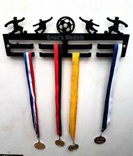 Personalised Football Medal Hanger Medal Holder Display 2 Tier 5mm acrylic