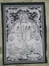 Poster Tapestry Wall Lord Hanging Ganesha Indian Cotton Decor Hippie Size Ethnic
