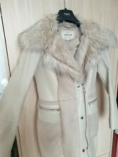 Ladies River Island Cream Coat Size 6