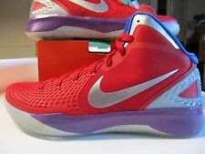 Nike Zoom Hyperdunk 2011 Supreme BLAKE GRIFFIN PE Red Silver Blue 13 469776 601