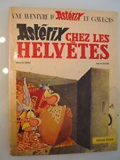 BD ASTERIX CHEZ LES HELVETES - édition originale 1970 -  bon état