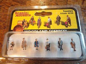 Woodland Scenics N #2155  -  Travelers