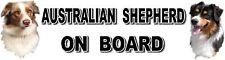 AUSTRALIAN SHEPHERD ON BOARD Sticker - Starprint