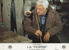 JEAN GABIN  LA HORSE  1970 PHOTO D'EXPLOITATION VINTAGE #2