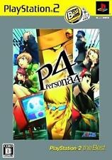 Used PS2  Persona 4   SONY PLAYSTATION JAPAN IMPORT