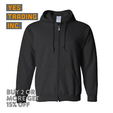 MENS WOMENS PLAIN ZIP UP HOODIE ZIPPER FLEECE JACKET HOODED PULLOVER SWEATSHIRT