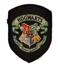 """Harry Potter HOGWARTS 4"""" Logo Sew Ironed On Badge Embroidery Applique Patch"""