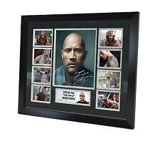 Dwayne Johnson Signed Photo Movie Memorabilia Limited Edition & FRAMED