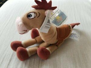 Disney Pixar Toy Story 2 Bullseye Star Bean NWT