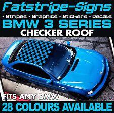BMW SERIE 3 verifica della grafica TETTO Decalcomanie Adesivi Strisce E46 E90 M3 M Sport