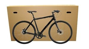 Cardboard Bike Box Bicycle Shipping and Storage Box With Carry Handles