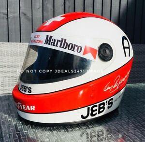 F1 Helmet Stickers Clay Regazonni JEBS Helmet Sticker Kit Full Size Helmet 1.1