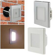 LED Wand-Einbau-Strahler 230V für UP-Dose Treppen-Stufen-Licht Leuchte Lampe