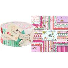 """POSY Jelly Roll, Aneela Hoey Moda Fabrics, 40 Strips 2.5""""x45"""" 100% Cotton Japan"""