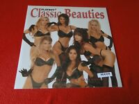 Vintage Large Semi-Nude Pinup Wall Calendar 1999 Playboy Classic Beauties      D