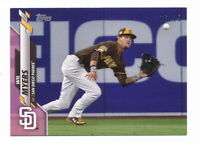 WIL MYERS 2020 TOPPS MINI PINK PARALLEL #16/25 SAN DIEGO PADRES #544