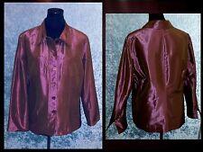 Iridescent Blazer Jacket by Fer in Elegant Aubergine for Festive & Stage 46