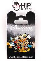 Mickey & Friends Authentic Disney Trading Pin - Disneyland Paris