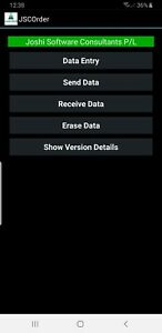JSCOrder Software for IGA Store for Honeywell Android OS Devices
