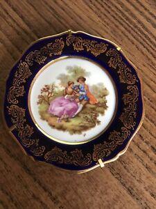 Limoges France Vintage Porcelain Small Plate