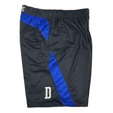 Nike Duke Blue Devils Black Basketball Shorts Athletic Gym Mens Large