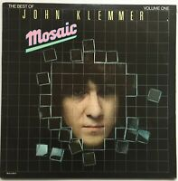 JOHN KLEMMER Mosaic-The Best of John Klemmer Vol 1 2LP g/fold 1979 MCA EX/EX