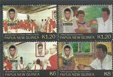 Papua New Guinea 2012 - Peter Torot Set of 4 Stamps MNH