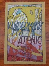 Vandermark 5 2004 Cowboy Monkey Champaign IL Poster by Jay Ryan The Bird Machine