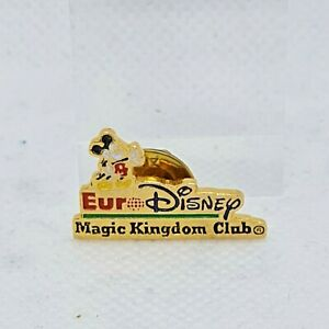 Magic Kingdom Club Mkickey Mouse Euro Disney Enamel Metal Pin Badge