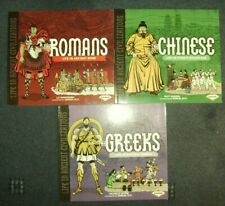 Life In Ancient Civilization published by Lerner 3 titles Chinese Greeks Romans.