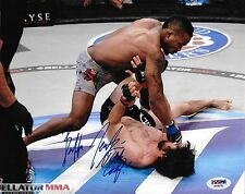 Bubba Jenkins Signed Bellator MMA 8x10 Photo PSA/DNA COA Picture Autograph UFC 1