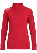 Rosso 1 / Small Geographical Norway Talmud Lady Half Zip Gilet Donna