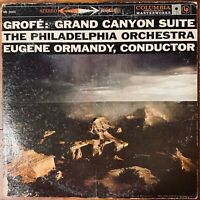 THE PHILADELPHIA ORCHESTRA EUGENE ORMANDY CONDUCTOR GROFE: GRAND CANYON SUITE LP