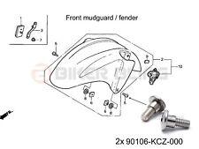 Honda CBR600F4i Sport 2001-2003 2x shouldered front mudguard bolts 90106-KCZ-000