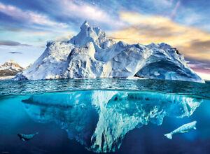 Jigsaw puzzle Landscape Seascape Arctic Iceberg 1000 piece NEW