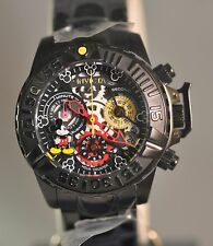 0002 of 3000 New Women Invicta 24508 Disney Limited Edition Black Watch