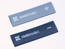 1 paia Kimber TUBETTI termorestringenti Large per Cavo 5-10mm GRIGIO/NERO 8vs & 4vs
