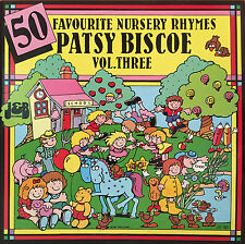 PATSY BISCOE 50 Favourite Nusery Rhymes Vol 3 LP