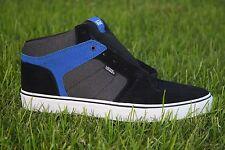 Vans Ellis Mid Suede/Textile Black/Blue SK8 Half Cab Men's Skate Shoes Size 13