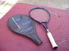 Dunlop Turbo Plus Broad Beam Series Graphite Tennis Racquet 4 3/8 w Pro Overwrap