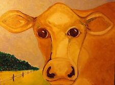 Cow  by Rodster 11X14-Original Acrylic NEW
