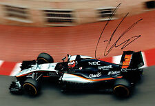 Nico HULKENBERG SIGNED Autograph Force India F1 12x8 MONACO Photo AFTAL COA